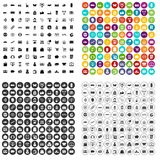 100 shopping icons set vector variant. 100 shopping icons set vector in 4 variant for any web design isolated on white Royalty Free Stock Photos