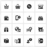 Shopping Icons Stock Photos
