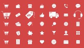 Shopping icons 02 royalty free illustration