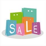 Shopping illustration Royalty Free Stock Photography