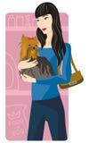 Shopping illustration series Stock Photo