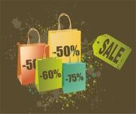 Shopping image illustration Stock Photos