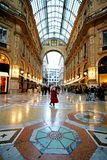 Shopping In Galleria Vittorio Royalty Free Stock Photo