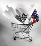Shopping for investments Royalty Free Stock Image