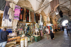 Shopping in Jerusalem Royalty Free Stock Photos