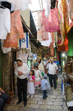 Shopping in Jerusalem Royalty Free Stock Photography