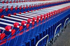 Shopping Karts Royalty Free Stock Photo