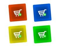 Shopping Key Royalty Free Stock Photo