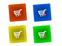 Shopping Key Royalty Free Stock Images