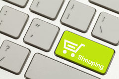 Shopping Key Stock Images