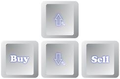 Shopping Keyboard Royalty Free Stock Photos