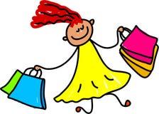 Free Shopping Kid Royalty Free Stock Photography - 940047