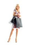 Shopping lady #2 Royalty Free Stock Image
