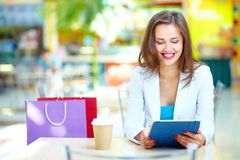 Shopping leisure Stock Photography