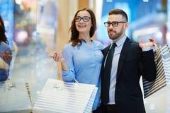 Shopping at leisure Royalty Free Stock Photo