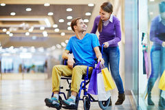 Shopping without limits stock image