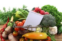 Shopping list Royalty Free Stock Images