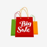 Shopping logo. Big Sale symbol or icon Stock Photography
