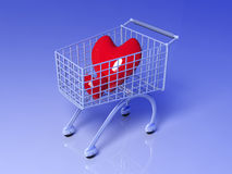 Shopping for Love Stock Image