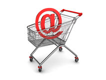 Shopping mail Stock Images