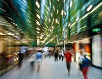 Shopping makes me dizzy Royalty Free Stock Photo