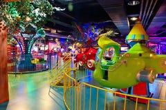 Shopping mal playground Stock Photo