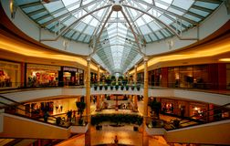 Shopping Mall. The Somerset Collection shopping mall of Troy, Michigan, with its 180 stores and annual sales of approximately $ 600 million, is not only one of