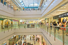 Shopping mall Royalty Free Stock Photo