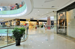 Shopping mall. The shopping mall of wanda wuxi city china Royalty Free Stock Image