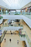 Shopping mall. The shopping mall of wanda wuxi city china Royalty Free Stock Photos