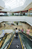 Shopping mall. The shopping mall of wanda wuxi city china Royalty Free Stock Photo