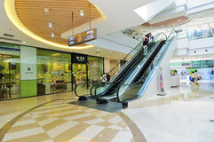 Shopping mall. The shopping mall of wanda wuxi city china Stock Image