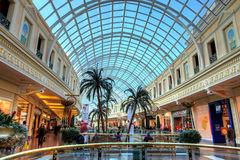 Shopping mall. Trafford Centre shopping mall in Manchester, England Royalty Free Stock Image