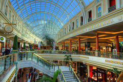 Shopping mall. Trafford Centre shopping mall in Manchester, England Stock Image