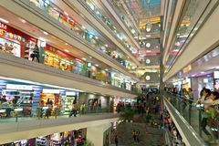 Shopping mall Stock Photography