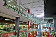 Shopping mall. Interior of big shopping mall Royalty Free Stock Photos