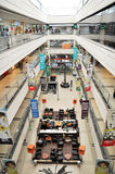Shopping mall. Interior of a massive shopping mall in chennai Royalty Free Stock Photo