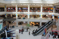 Shopping Mall. HyperStar is brought to Pakistan by Majid Al Futtaim Retail of UAE. In UAE, Majid Al Futtaim Hypermarkets represent (and thus known as) Carrefour Stock Photo