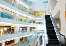 Shopping mall Stock Image