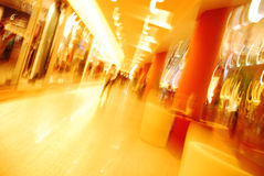 Shopping mall. Abstract shot inside a romanian shopping mall Royalty Free Stock Image