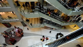 The shopping mall also has the rest area for the customers in Beijing Royalty Free Stock Photo