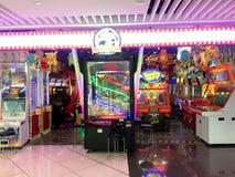 Shopping Mall Arcade Games Stock Photos