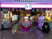 Shopping Mall Arcade Games Royalty Free Stock Photography