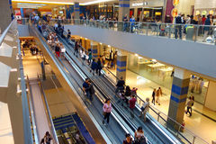 Shopping Mall Belt Escalator Royalty Free Stock Photography