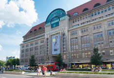 Shopping mall in berlin Stock Photography