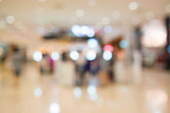 Shopping mall blur background Stock Photography