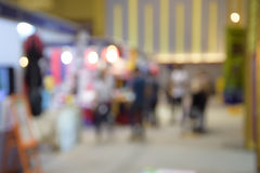 Shopping mall blur background with bokeh. Shopping mall blur background with bokeh Stock Images