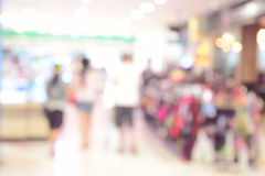 Shopping mall blur background with bokeh. Shopping mall blur background with bokeh Royalty Free Stock Images