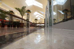 Shopping mall - bright and clean Stock Images