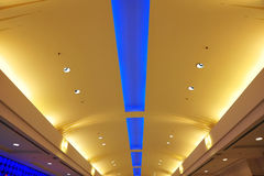 Shopping mall ceiling Royalty Free Stock Photo